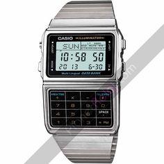 Relojes Casio. Reloj Casio retro con calculadora DBC-611E-1EF. ¿Te acuerdas? Do you remember?