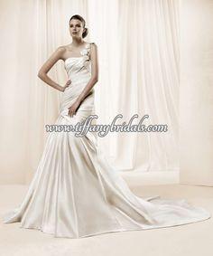 La Sposa Wedding Dresses - Style Damasco La Sposa Wedding Dresses, Wedding Dress Styles, Prom Dresses, Formal Dresses, One Shoulder Wedding Dress, Fashion Dresses, Dresses For Formal, Fashion Show Dresses, La Sposa Wedding Gowns