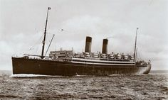 NameHMS Laurentic  Type:Armed Merchant Cruiser Tonnage18,724 tons (one of the largest ships sunk). Nationality:  British  FateSunk by U-99 (Otto Kretschmer) Complement417 (49 dead and 368 survivors) HistoryCompleted in November 1927 as steam passenger ship Laurentic for White Star Ltd (Oceanic Steam Navigation Co), Liverpool. 1934 transferred to Cunard White Star Ltd, Liverpool. On 26 Aug, 1939, requisitioned by the Admiralty and converted to the armed merchant cruiser HMS Laurentic