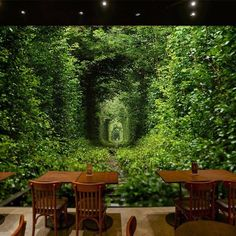 Details about Green forest 53 Garage Door Murals Wall Print Decal Wall Deco A Bedroom Background Wallpaper, 3d Wallpaper Mural, Cheap Wallpaper, Photo Wallpaper, Paper Background, Wallpaper Wallpapers, Living Room Green, Living Rooms, Door Murals
