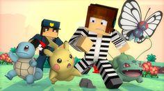 Minecraft : OS POKEMONS FORAM PRESOS !! - ( Polícia e Ladrão)