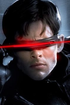 Cyclops from the X-Men movies.
