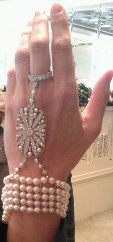 Tiffany & Co. hand jewel worn by Carey Mulligan in The Great Gatsby