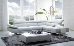 grey leather couch encore modern grey leather sofa set grey leather couch for sale. Grey Leather Sectional, Leather Reclining Sectional, White Leather Sofas, White Sectional, Best Leather Sofa, Modern Sectional, Sectional Furniture, White Sofas, Best Sectional Couches
