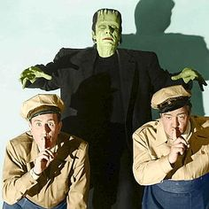 abbott and costello meet frankenstein wallpaper hd