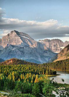 Many Glacier, Glacier National Park, #Montana