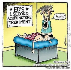 tip: do not go to this acupuncturist!