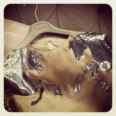 The Little Fashion Treasury: SEQUINED HORSES top from Chloe Spring 2001 RTW