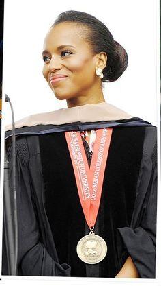 Kerry Washington. The Graduate.