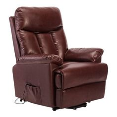 Recliner Armchair Lift Leather Home Lounge Rise and Recliner Electric Recliner Sofa, Life Carver ®
