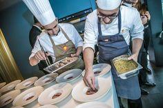 I nostri fantastici Chef all'opera! #chef #mareeluna #rimini #ristorante #altacucina