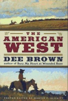 The American West. (Dee Brown)  By centring solely on three subjects - Native Americans, settlers and ranchers - the author recreates these groups' struggles for their place in this new landscape and illuminates the history of the old West. Beginning with the demise of the Native Americans of the Plains, Brown depicts the onrush of the burgeoning cattle trade and the wave of immigrants who ultimately settled the land.