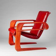 Airline  Kem Weber  (American (born Germany) Berlin 1889–1963 Ventura, California)    Manufacturer:      Airline Chair Company (Los Angeles, California)  Date:      ca. 1934