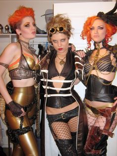 steampunk-lingerie