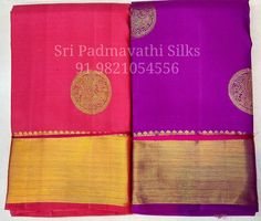 Kanchana - Kancheepuram handloom pure silk bridal brocade sarees with gold zari mirror motifs and big border and grand pallu. Book now 91 9821054556  Sri Padmavathi Silks, the only South Indian store in Dombivli, India. Kancheepuram handloom pure silk sarees in Mumbai. International shipping available. Wholesale orders accepted.  www.facebook.com/sripadmavathisilkspage #kancheepuram #bride #bridalfashion #bridalcouture #bridaltrousseau #silksaree #beautiful #fashion #love #wedding #wedding