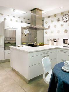 Reformas que aciertan - Cocinas office - Decoracion interiores - Interiores, Ambientes, Baños, Cocinas, Dormitorios y habitaciones - CASADIEZ.ES
