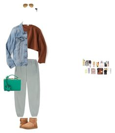 """""""Comfy"""" by emmagszalay ❤ liked on Polyvore featuring Uniqlo, Bobbi Brown Cosmetics, La Mer, Christian Dior, Yves Saint Laurent, Mark Cross, Orlane, The Wet Brush, Huda Beauty and Beats by Dr. Dre"""