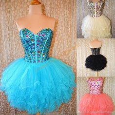 2016 Ballgown Homecoming Dresses With Lace Up Back And Tiered Skirts Real Pictures Beaded Pleated Ruffled Tulle Tutu Sweet 16 Gowns Purple Homecoming Dress Sale Dress From Uniquebridalboutique, $134.13| Dhgate.Com