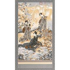 Bavlna kolekce Imperial - panel | Kolekce Imperial Coll Metalic | Důmlátek.cz - látky a metráž