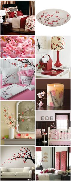 cherry blossom in a vase - Google Search
