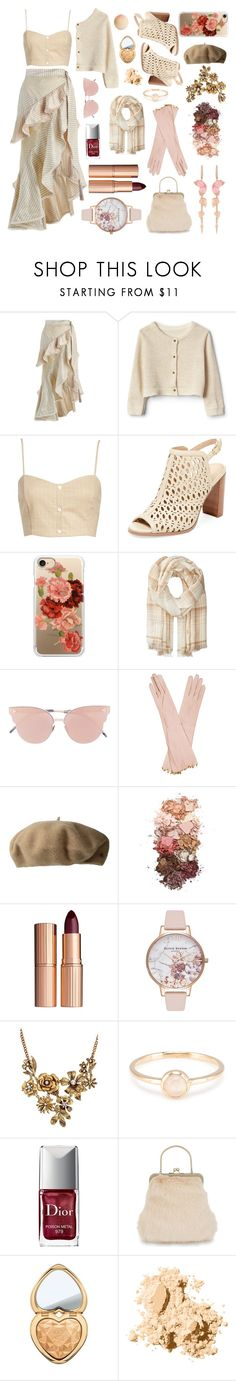 """Roses & Cream"" by dlmusiel ❤ liked on Polyvore featuring Zimmermann, Leith, Renvy, Casetify, Polo Ralph Lauren, So.Ya, Chanel, Lauren Ralph Lauren, Sigma and Charlotte Tilbury"