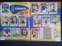 seleccion colombia via al mundial 2014 panini...