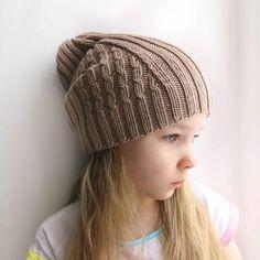 Мир волшебного руко-делия. Замечательная шапочка спицами. Knitted Hats, Crochet Hats, Neck Accessories, Head And Neck, Knitting For Kids, Rubrics, Scarves, Stitch, Pattern