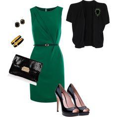 green, created by melanie-gottlieb.polyvore.com