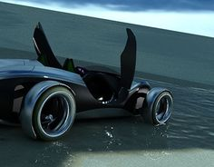 """Check out my @Behance project: """"Buggy Concept"""" https://www.behance.net/gallery/16068557/Buggy-Concept"""