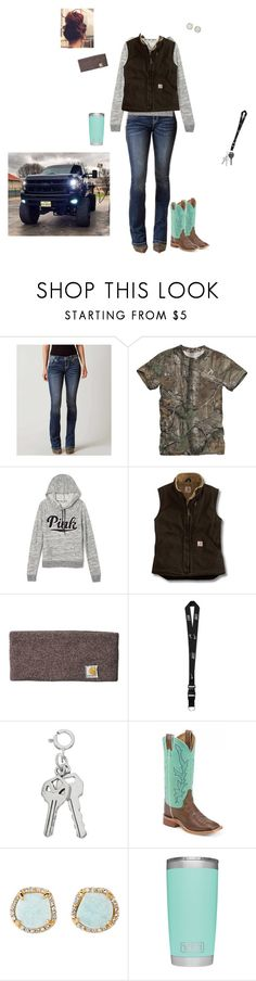 """""""Just Another Day of School..."""" by kansascountrygirl ❤ liked on Polyvore featuring Miss Me, Victoria's Secret, Carhartt, NIKE, Cherokee, Louise et Cie and country"""