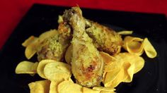 Chicken legs different ways with delicious sides