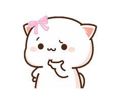 Cute Couple Comics, Cute Couple Cartoon, Cute Love Cartoons, Cute Love Pictures, Cute Love Gif, Cute Images, Cute Anime Cat, Cute Cat Gif, Cute Cats