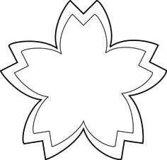 Spring flowers clipart black and white free desen pinterest flower outline clip art black and white mightylinksfo Image collections