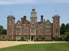 Blickling Hall, Norfolk. Owned by the Boleyn family, some believe that Anne Boleyn was born here, while others believe she was born at her family's castle, Hever Castle in Kent.
