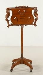 VICTORIAN MUSIC STAND October 25th Unreserved Estate Auction | Official Kaminski Auctions