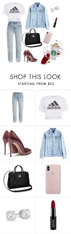 """""""BASIC"""" by wendyfashion on Polyvore featuring Vetements, Topshop and NYX"""
