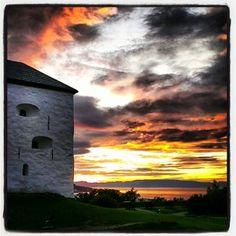 User: visittrondheim  #summer #visitnorway #tourist #adressa #trøndelag #sky #visittrondheim #travel #trondheim #norway #picoftheday #fortress #instagram Holidays In Norway, By Plane, Visit Norway, Trondheim, Midnight Sun, Den, Northern Lights, Random Stuff, Clouds