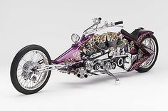 Arlen Ness Two Bad - fine engineering on this machine