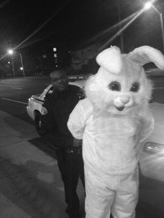 Easter, bunny, in handcuffs, meme