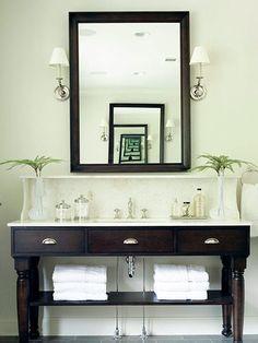Bathroom Washstand British Colonial