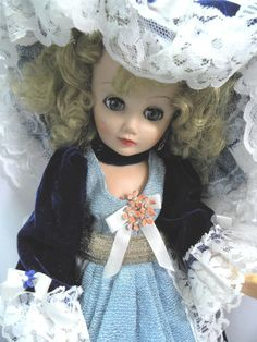 "Vintage 14R 1960s 18"" Fashion Doll Custom OOAK Clothes like Cissette/Revlon"