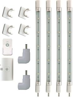 Rite Lite LPL954WRCAC LED Light Tube System with Remote by Rite Lite. $45.02. LED Light Tube System with 4 Tubes with 5 LED lights in each.