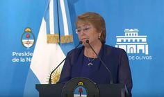 Declaración conjunta de Mauricio Macri y Michelle Bachelet