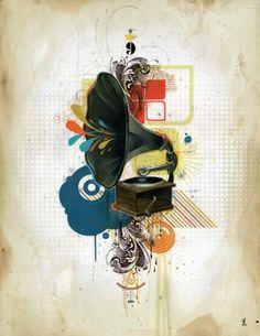 "Blaine Fontana -- I Dream ""Between Numbers"" Graphic Design Inspiration, Graphic Design Art, Jr Art, Street Graffiti, Graffiti Art, Popular Art, Illustration Sketches, Design Illustrations, Cool Posters"