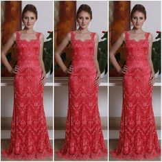 Isabella Narchi vestido coral