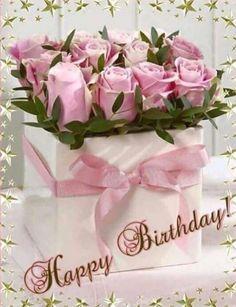 Free Happy Birthday Cards, Happy Birthday Greetings Friends, Happy Birthday Wishes Photos, Birthday Wishes Flowers, Happy Birthday Celebration, Happy Birthday Flower, Birthday Blessings, Birthday Wishes Cards, Happy Birthday Messages