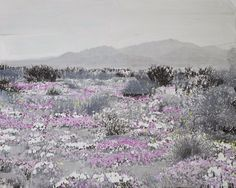 vjeranski:  IDA TURSIC & WILFRIED MILLELandscape and Pink and White, 2015Oil and Silver on canvas78 7/10 × 98 2/5 × 2 in200 × 250 × 5 cm