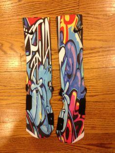 new custom nike elite socks for sale   Custom Nike Elite Socks Graffiti Galaxy Area 72 KD Lebron Kobe USA All ...