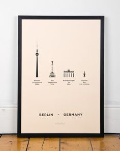 Berlin Screen Print by me&him&you share your travel experience with us! www.thetripmill.com