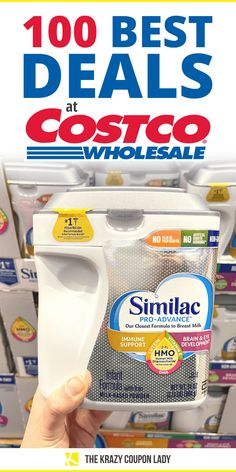 Are you wondering what are the best deals at Costco or just the best items to buy at Costco? You don't have to wonder whether Costco really does have the best prices because we've already done the math for you on these 100 best deals- without any coupons taken into account! So, if you're a non-couponing Costco lover in search of Costco shopping tips, rest assured that these are truly the best-priced items: baby formula, tampons, vanilla extract, Nutella, & more! #costcofinds #costco… Costco Finds, Costco Shopping, Shopping Tips, Best Deals At Costco, Store Hacks, Dollar Stores, Nutella, Coupons, Saving Money